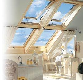 Kolorystyczne współbrzmienie: okna i poddasze