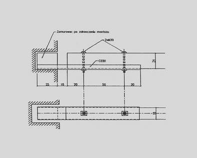 Wymiana stropu w istniejącym budynku